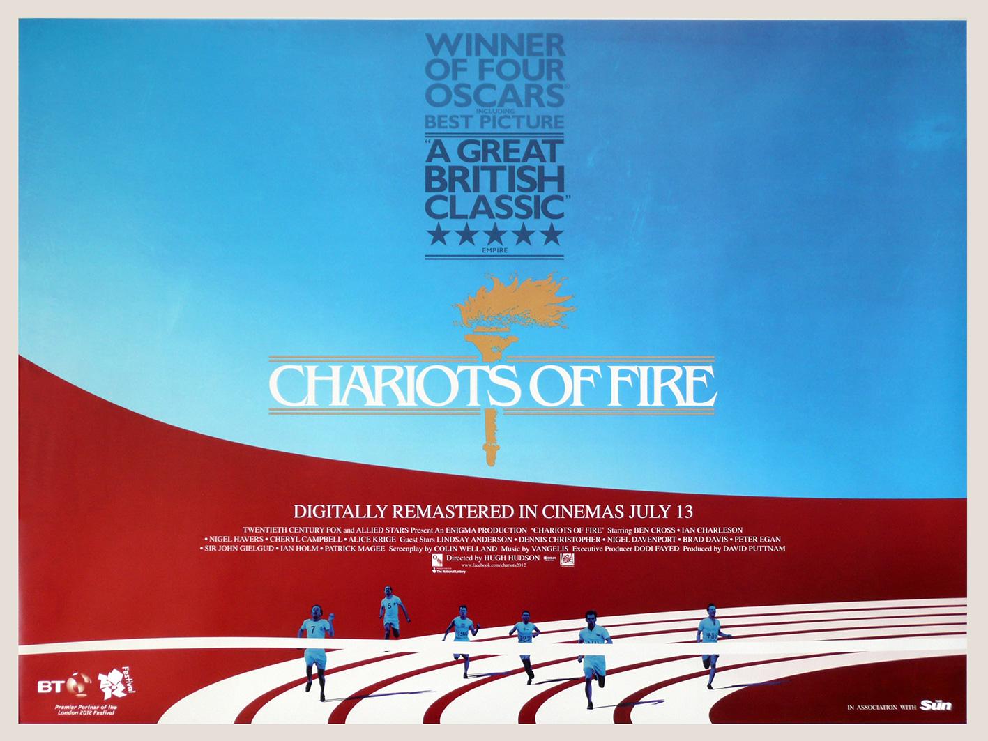 Les Chariots de feu, ou le sport comme symbole du triomphe paradoxal de la foi sur la tradition