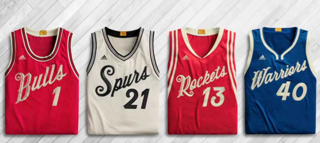 NBA Christmas Jerseys 2015