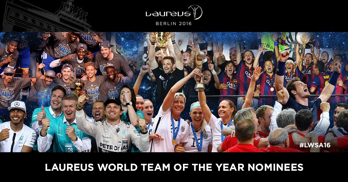 Trophées Laureus 2016