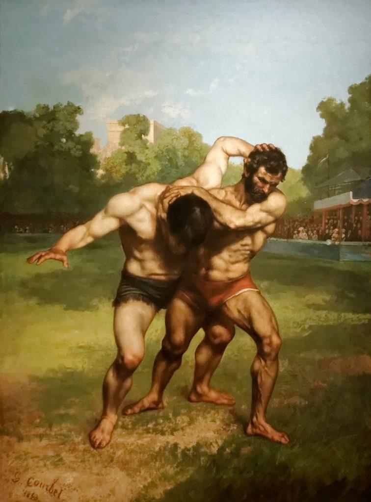 lutte grecque et le pancrace