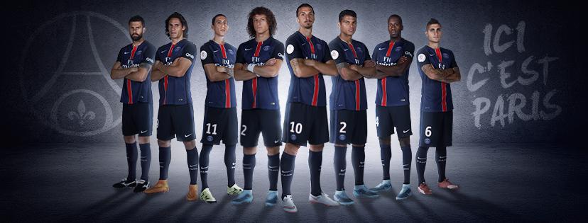 PSG - Paris Saint Germain - Equipe