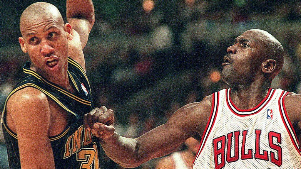 Reggie Miller Michael Jordan Trashtalk