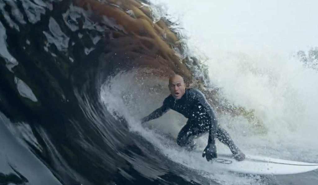 Vague artificielle de Kelly Slater