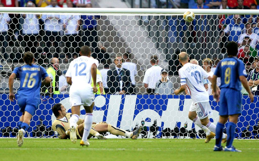 Zidane penalty Coupe du Monde 2006