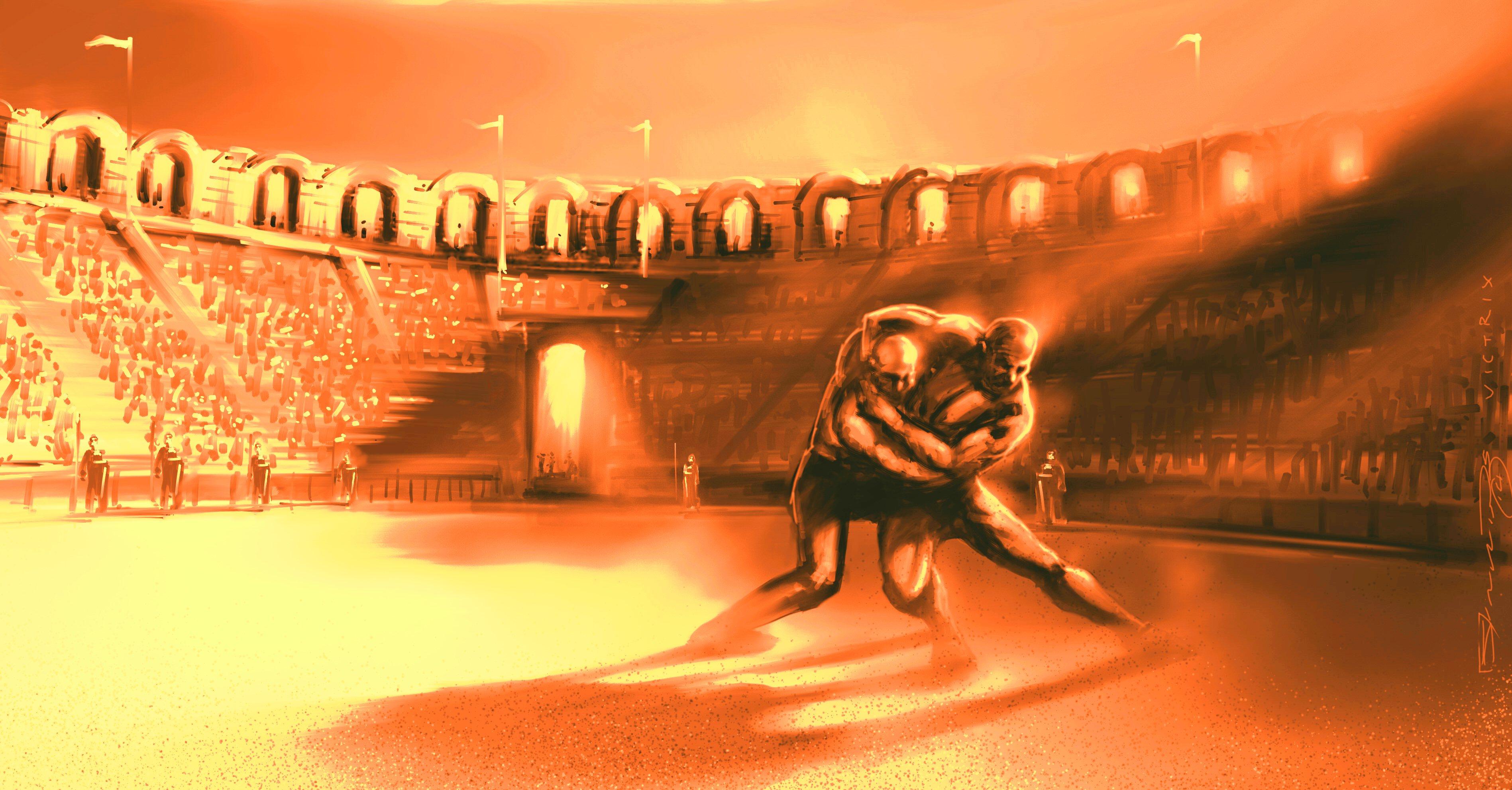 pancrace et lutte grecque