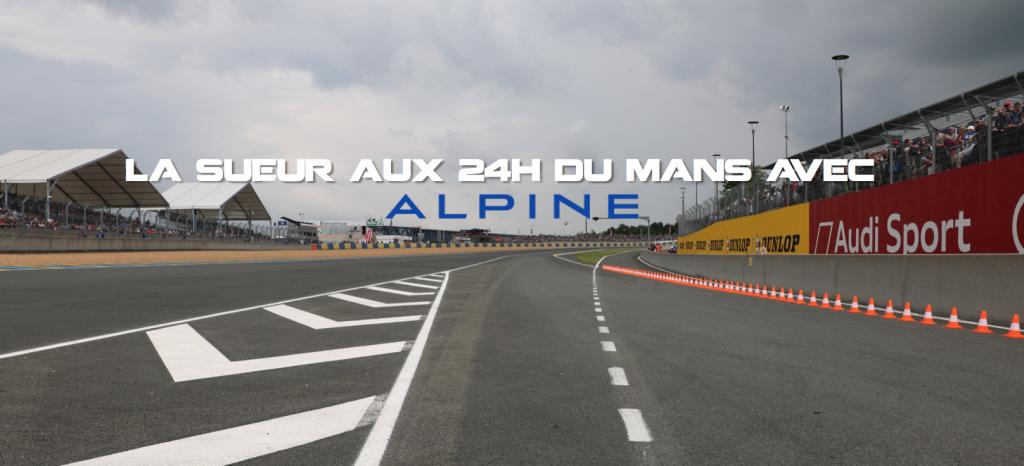 24h du Mans - Alpine - Tissot