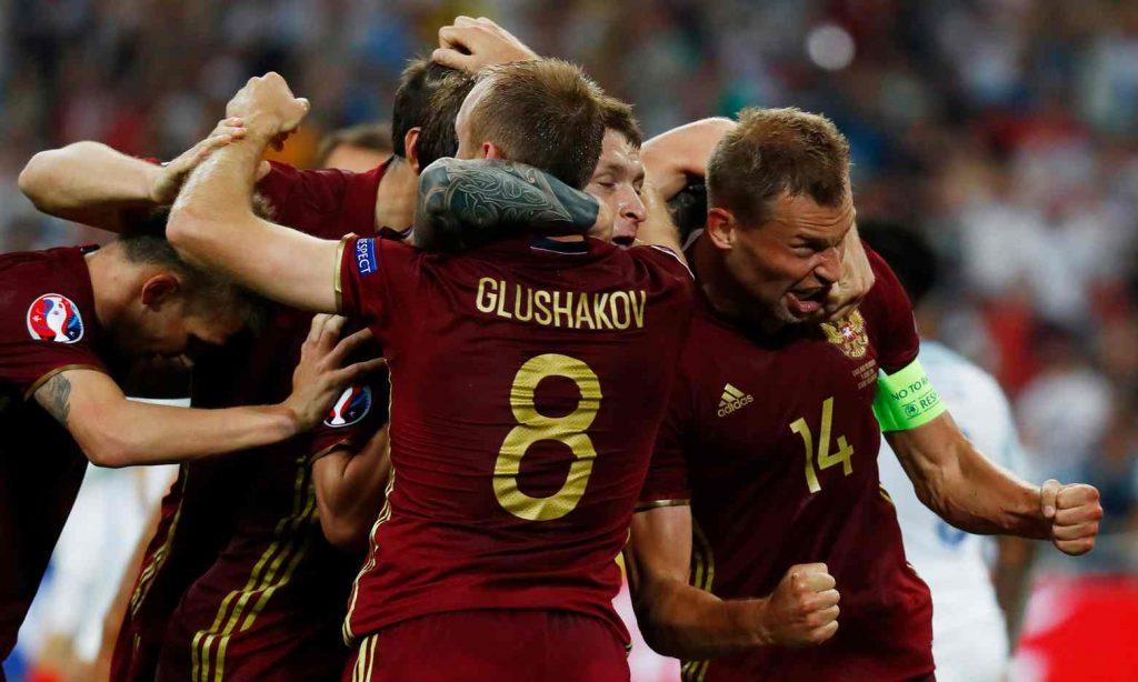 L'affiche: Angleterre –Russie