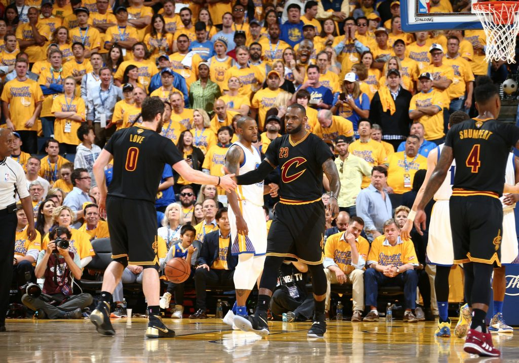 Game 5 Cavs Warriors
