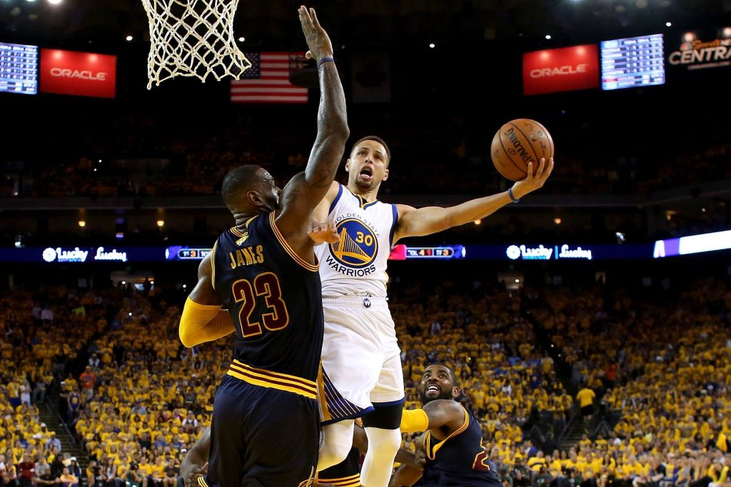 Game 7 NBA FINALS - Warriors Cavs