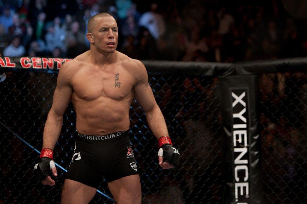 Georges St-Pierre retour MMA UFC