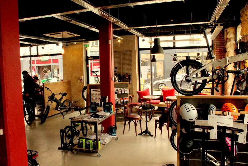 Jour de Vélo- le café-atelier Paris