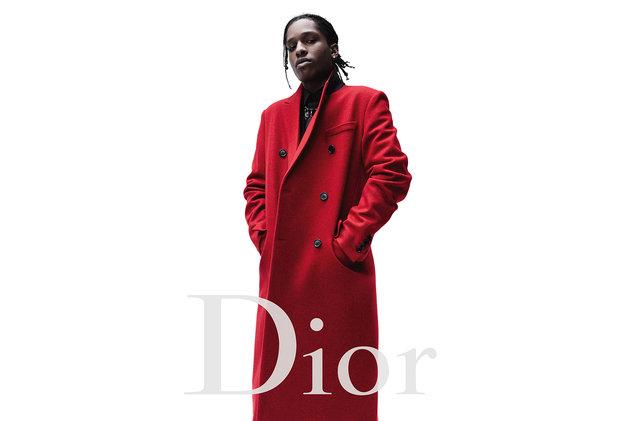 La bonne nouvelle de la semaine- A$AP Rocky nouvelle égérie de Dior