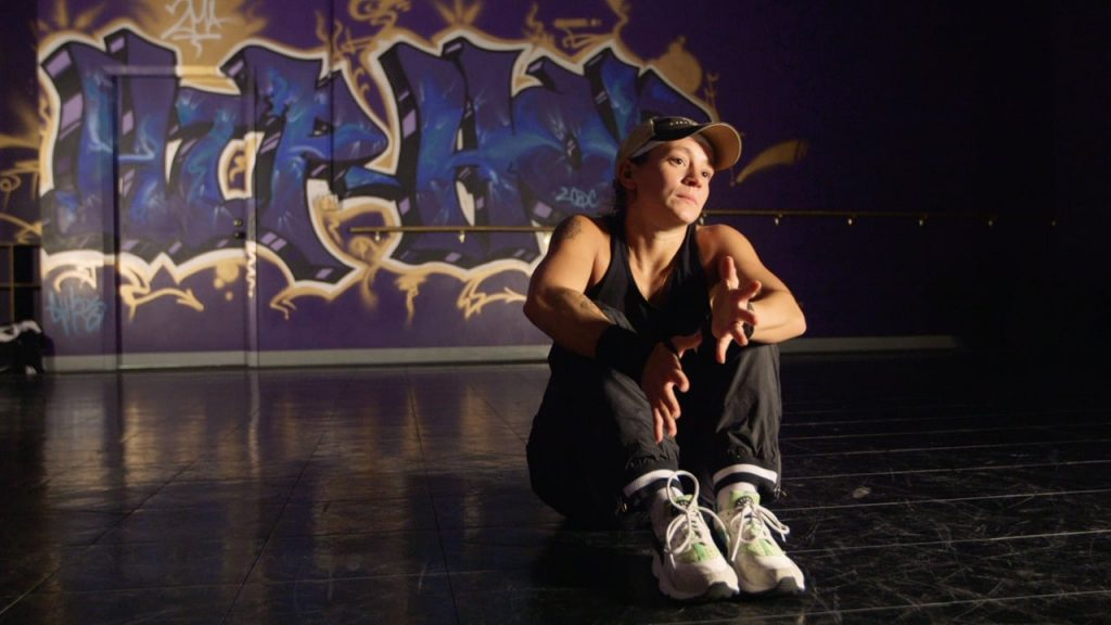 L'unique B-Girl de l'Alaska