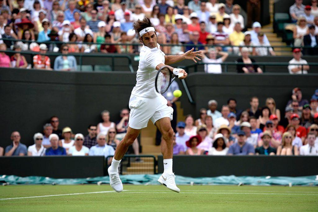 Wimbledon Roger Federer - tournoi stylé