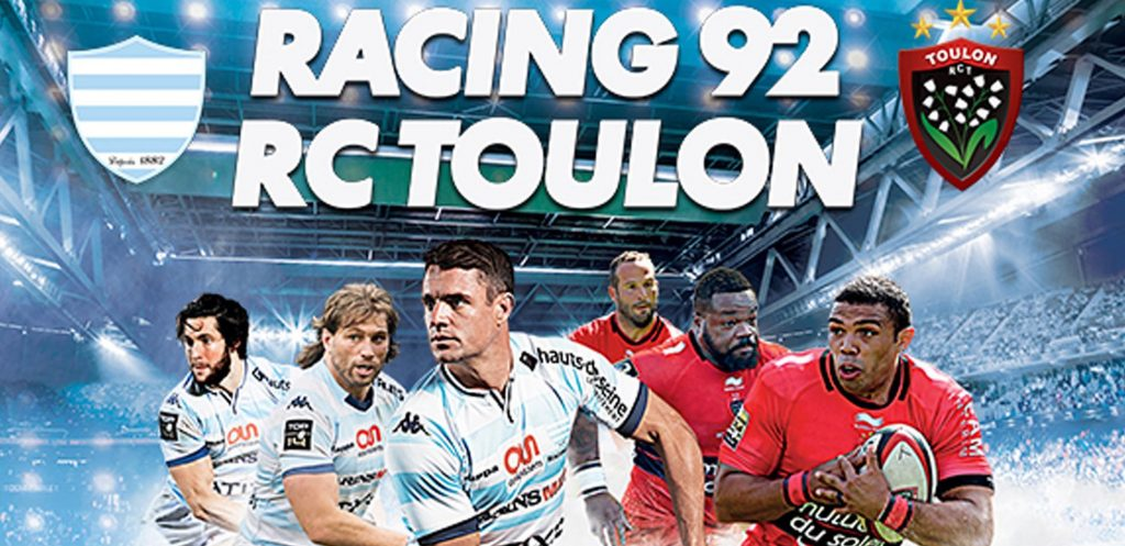 Finales Top 14 RC Toulon - Racing Metro