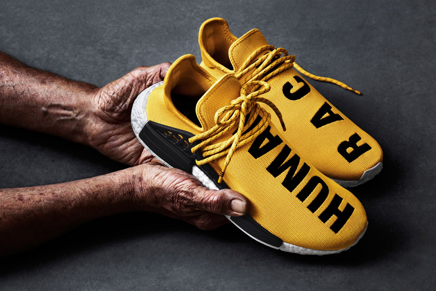 Adidas Originals = PHARRELL WILLIAMS Hu NMD