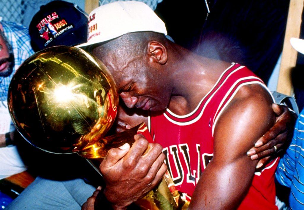 Michael Jordan premier titre Chicago Bulls 1991