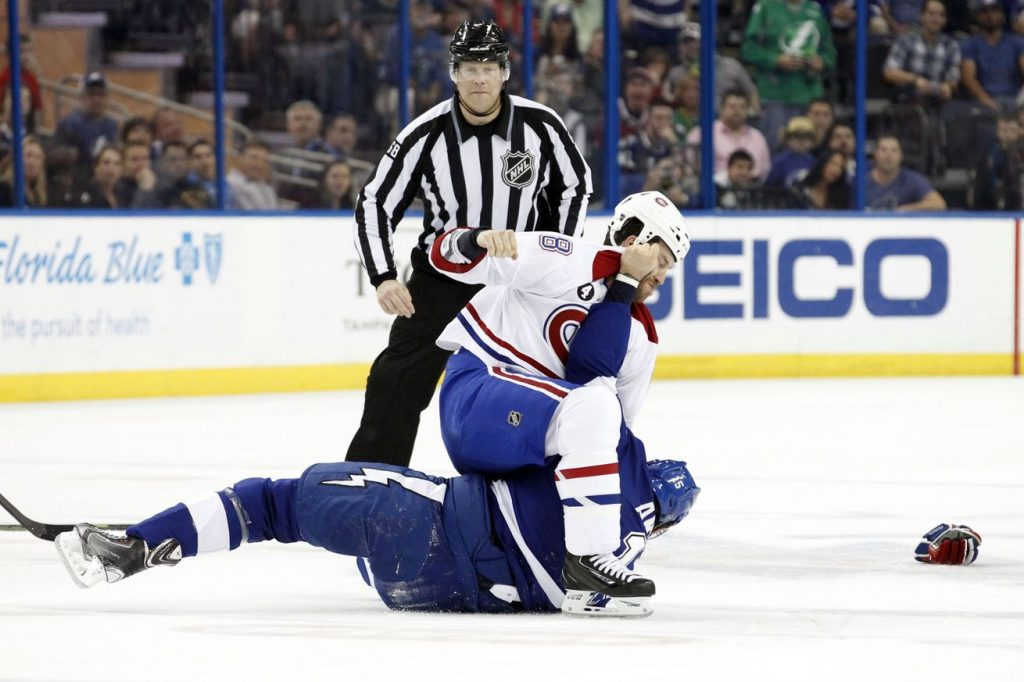 NHL bastons 2015-2016