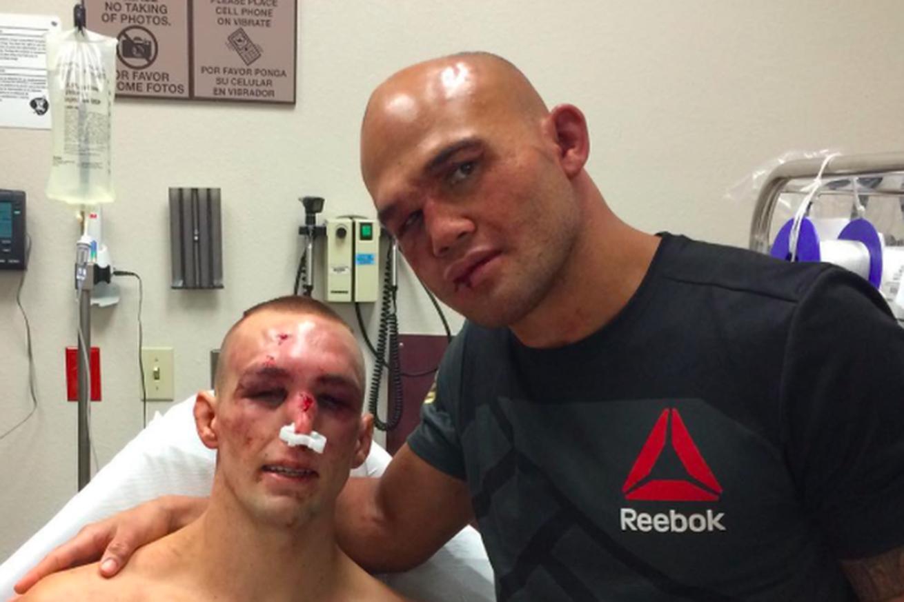 Robbie Lawler vs. Rory MacDonald UFC 189