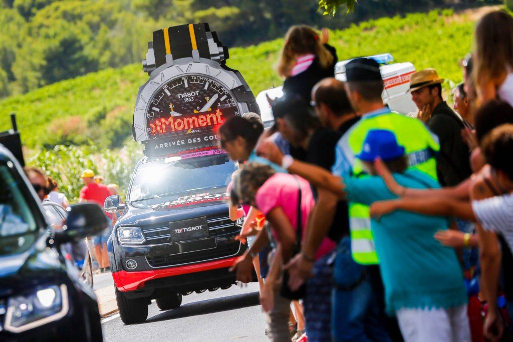 Tour de France - Caravane Tissot