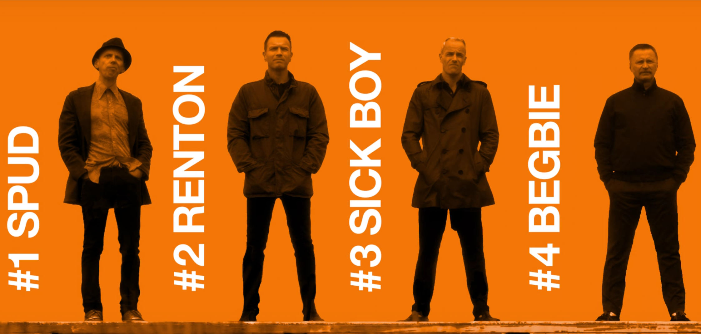 Trainspotting 2 - teaser