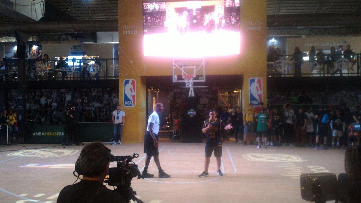 Bruce Bowen NBA House Rio