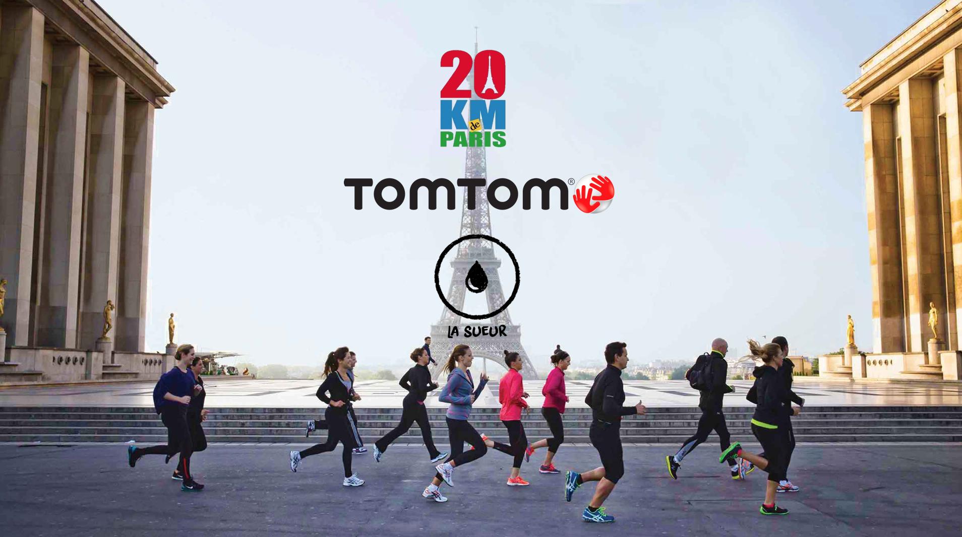 Concours 20km de Paris - TomTom x La Sueur