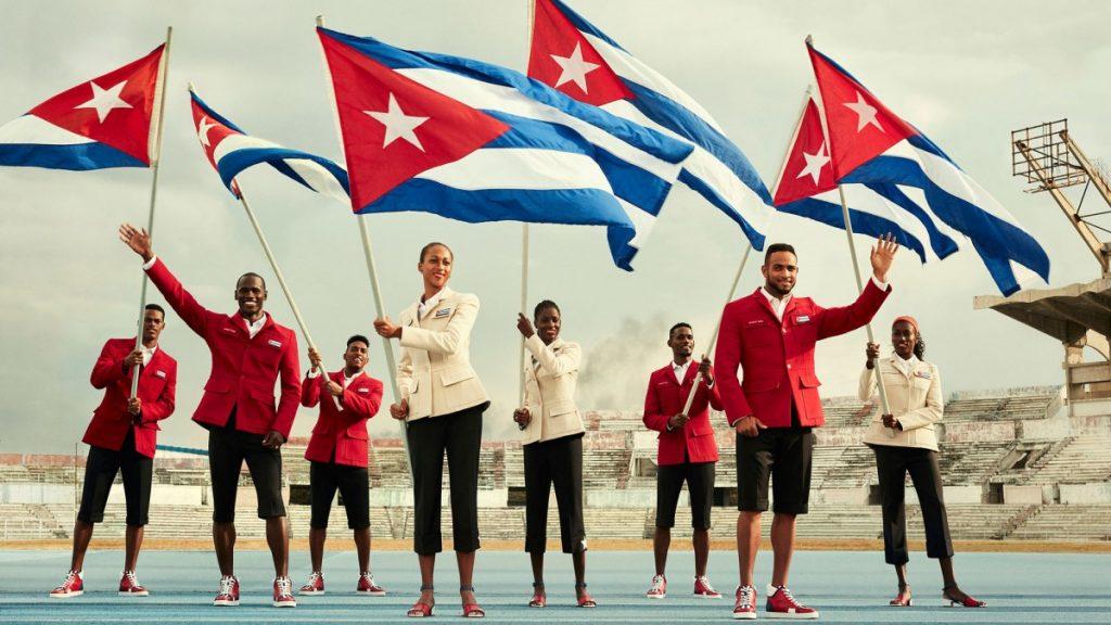 tenues des JO 2016 - Cuba - 1