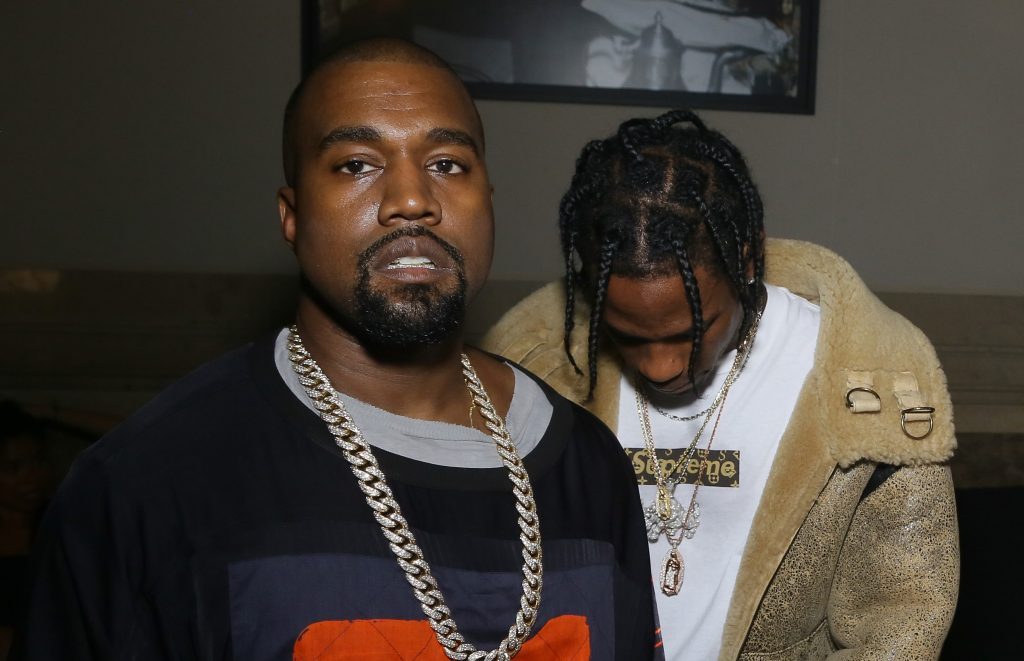 Kanye West Travis Scott In Common Remix