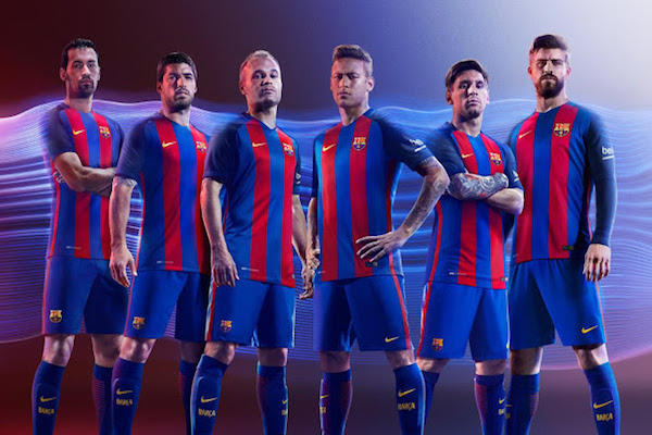 Maillot foot - FC Barcelone 2016:2017