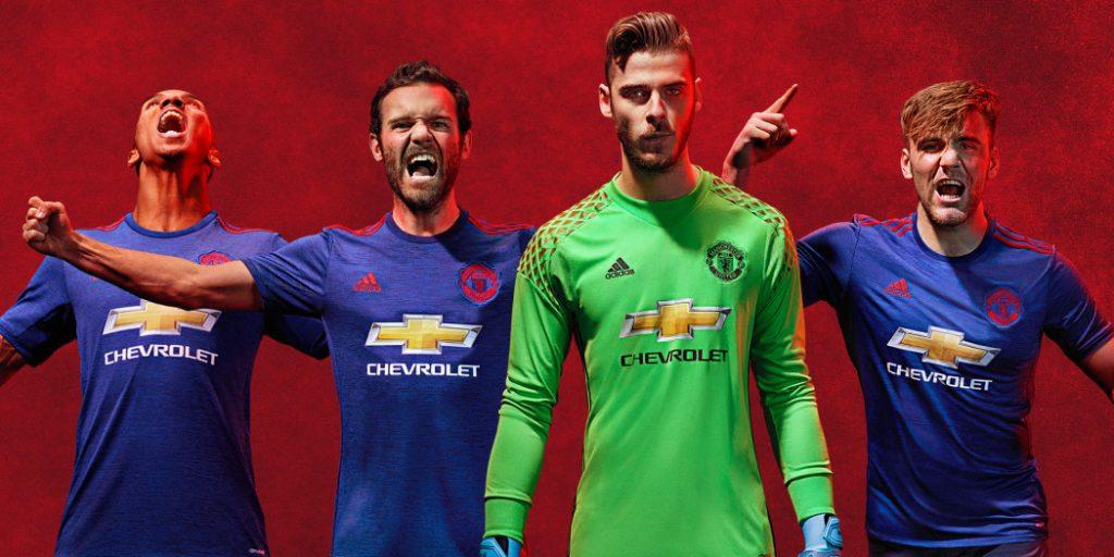 Maillots de foot - Manchester
