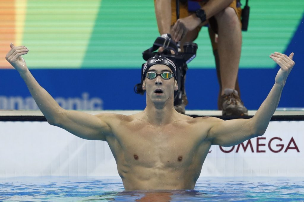 Michael Phelps a officiellement battu un record vieux de 2168 ans.