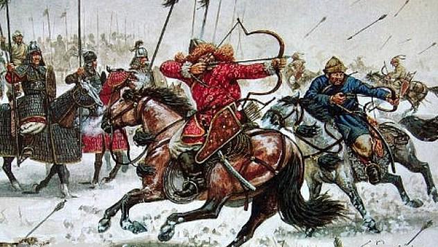 N'Gannou invasion mongol