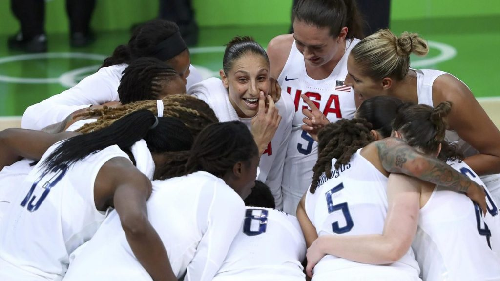 Rio 2016 - Equipe féminine de basket américaine- la vraie dream team