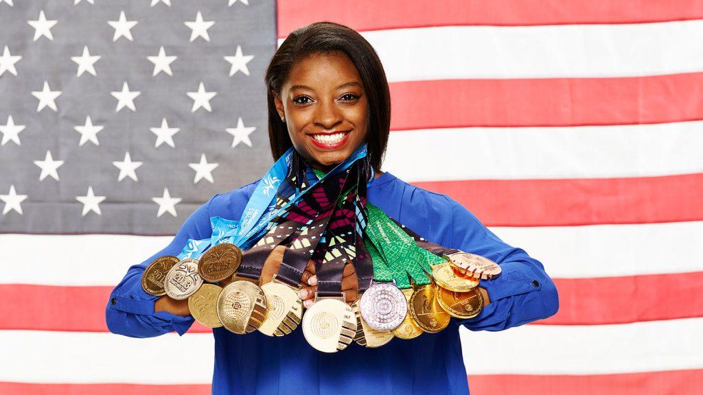 Simone Biles remporte cinq médailles aux Jeux Olympiques de Rio