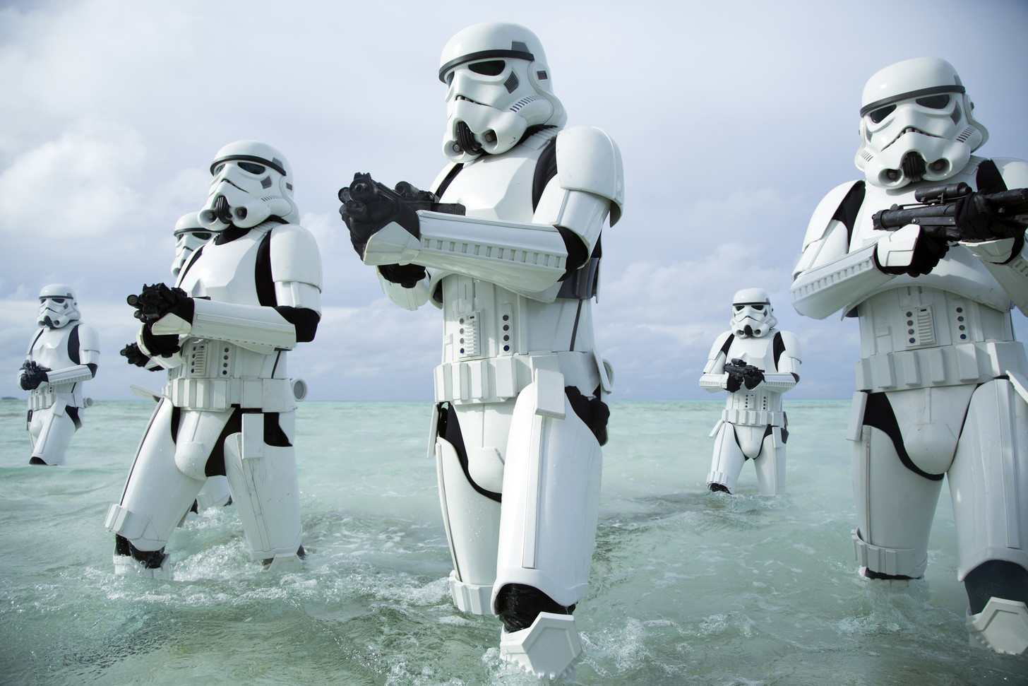 Star Wars Rogue One Stormtroopers water