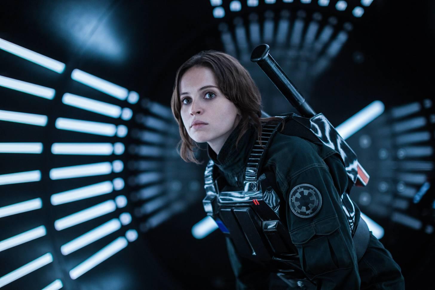 Star Wars Rogue One - felicity Jones