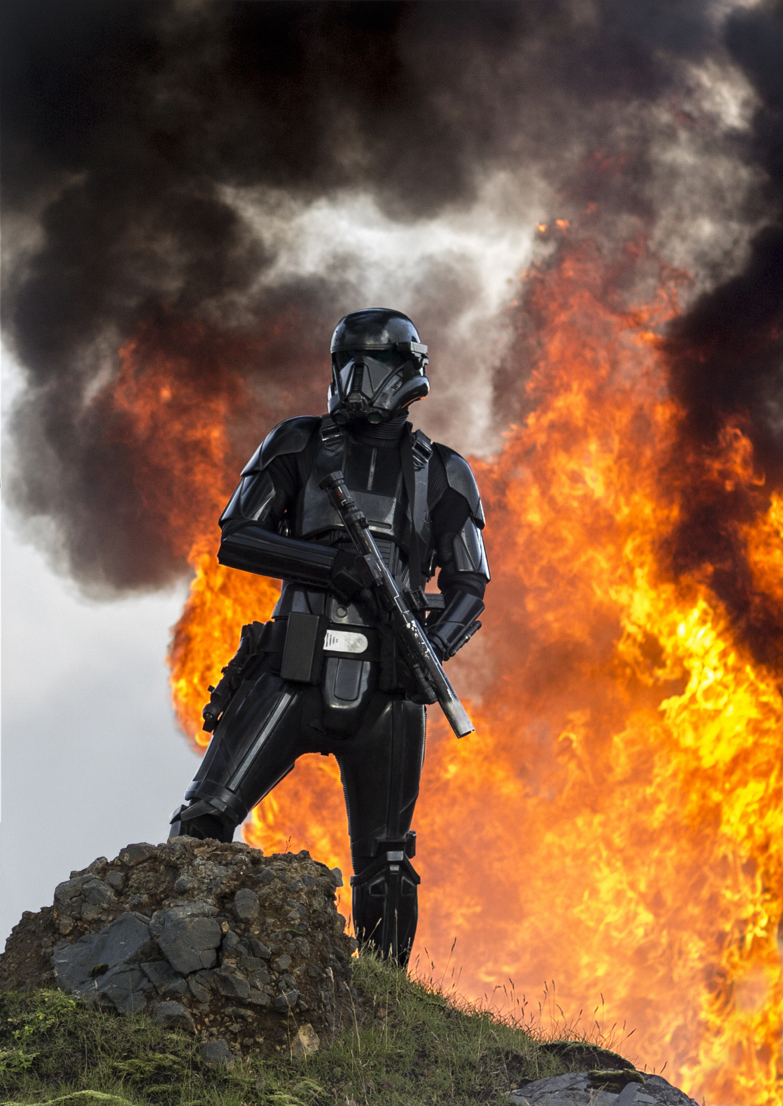 Star Wars Rogue One - fire