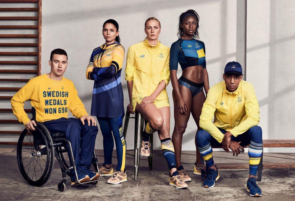 tenues des JO 2016 - Suède - 1