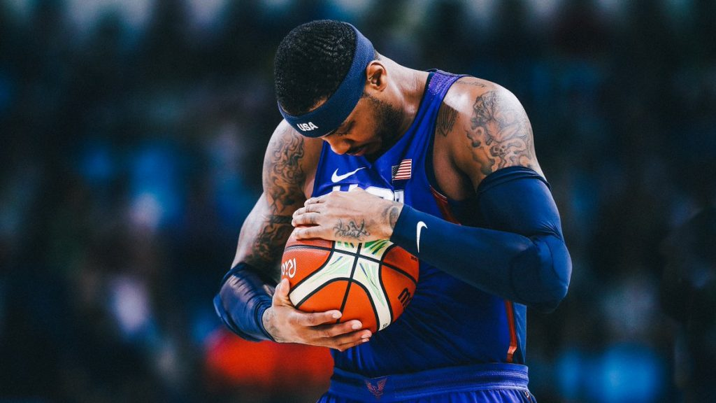 Team USA – Australie - Carmelo Anthony en sauveur