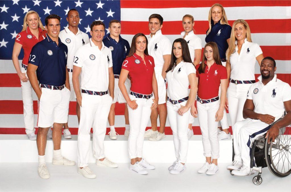 tenues des JO 2016 - USA- 1
