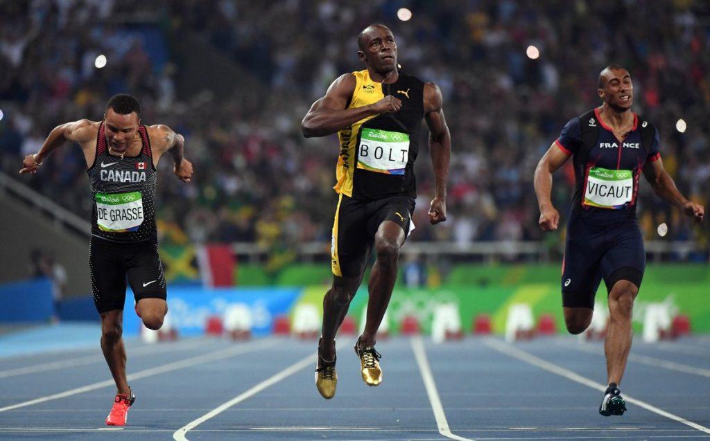 Usain Bolt 100m Rio 2016 Finale