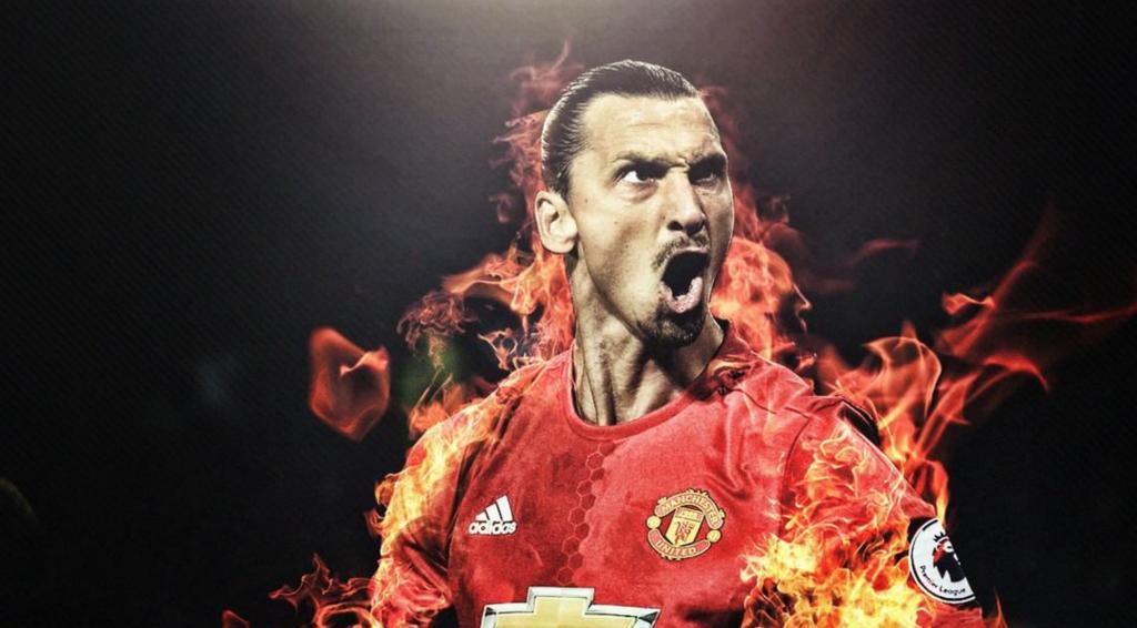 Zlatan Ibrahimovic - débuts réussis à Manchester United