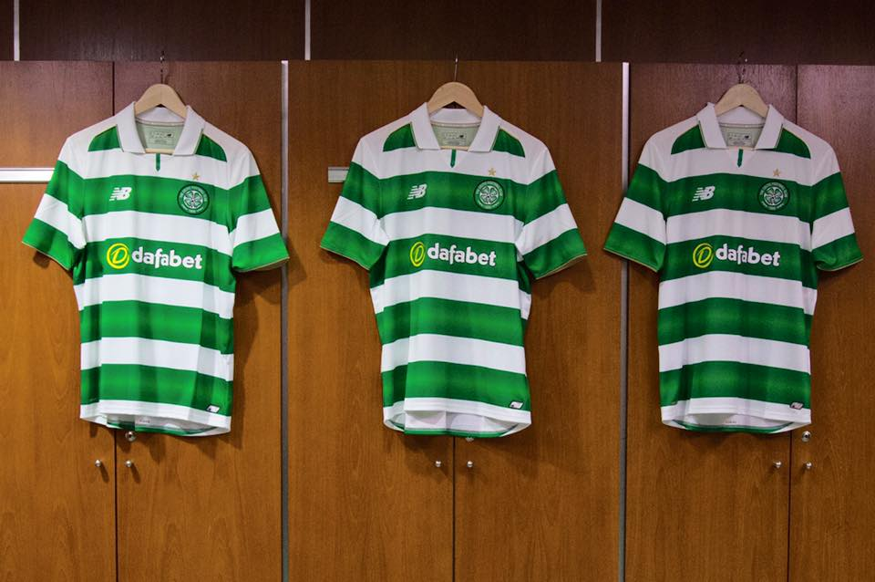 Maillots de foot - celtic