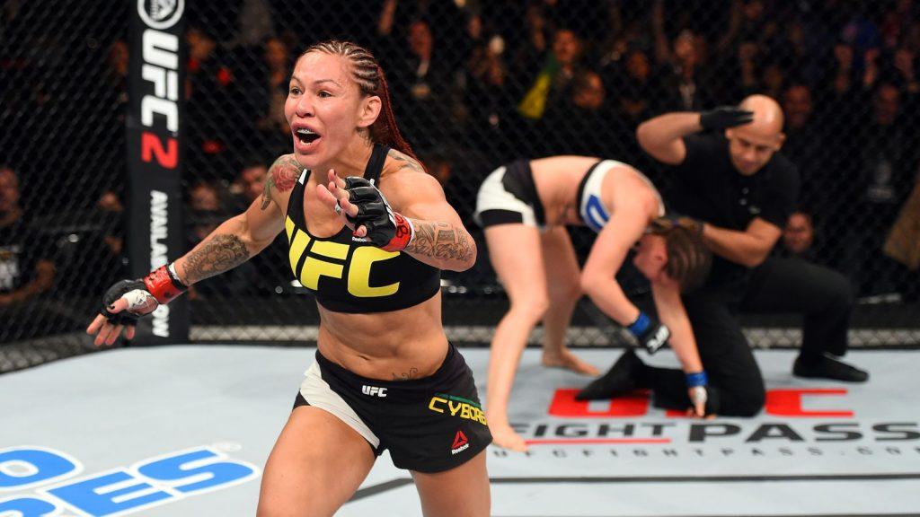 UFC 198: Cris Cyborg v Smith