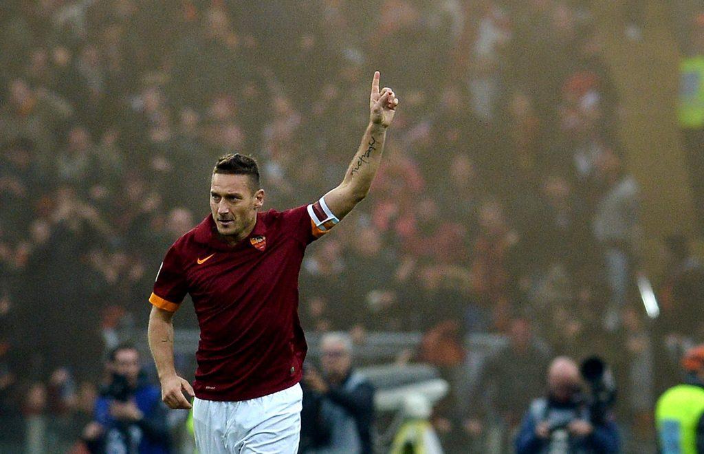 Francesco Totti libère la Roma contre la Sampdoria