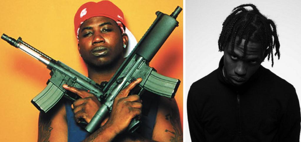 Gucci Mane en feat avec Travis Scott dans Last Time