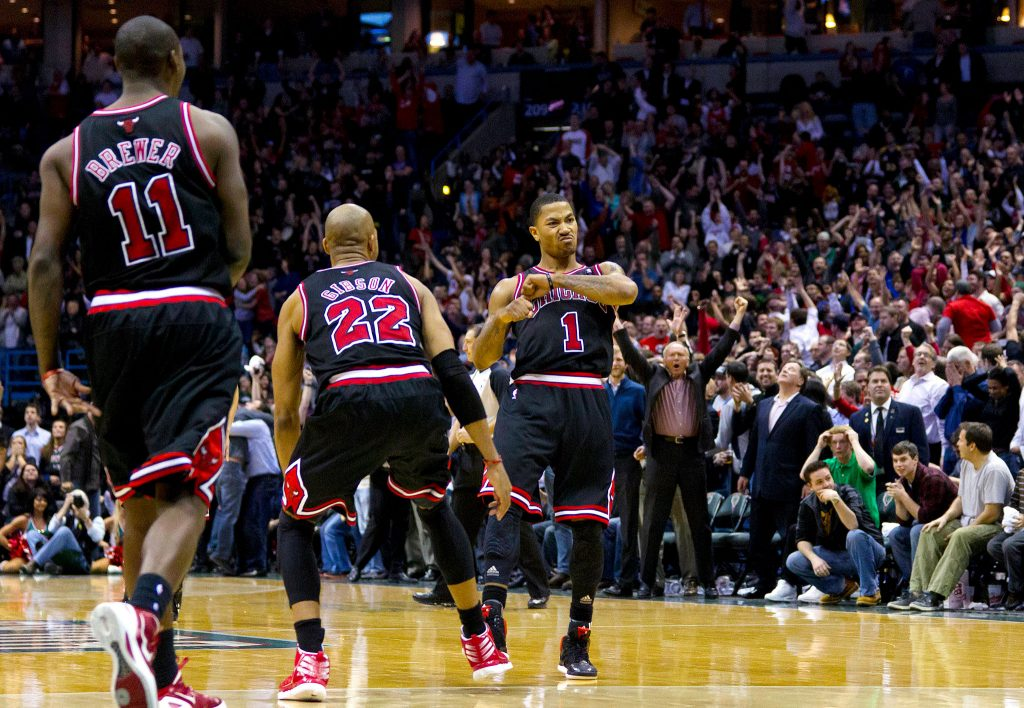 Mars 2012, Derrick Rose plantait 35 points sur les Philadelphia Sixers