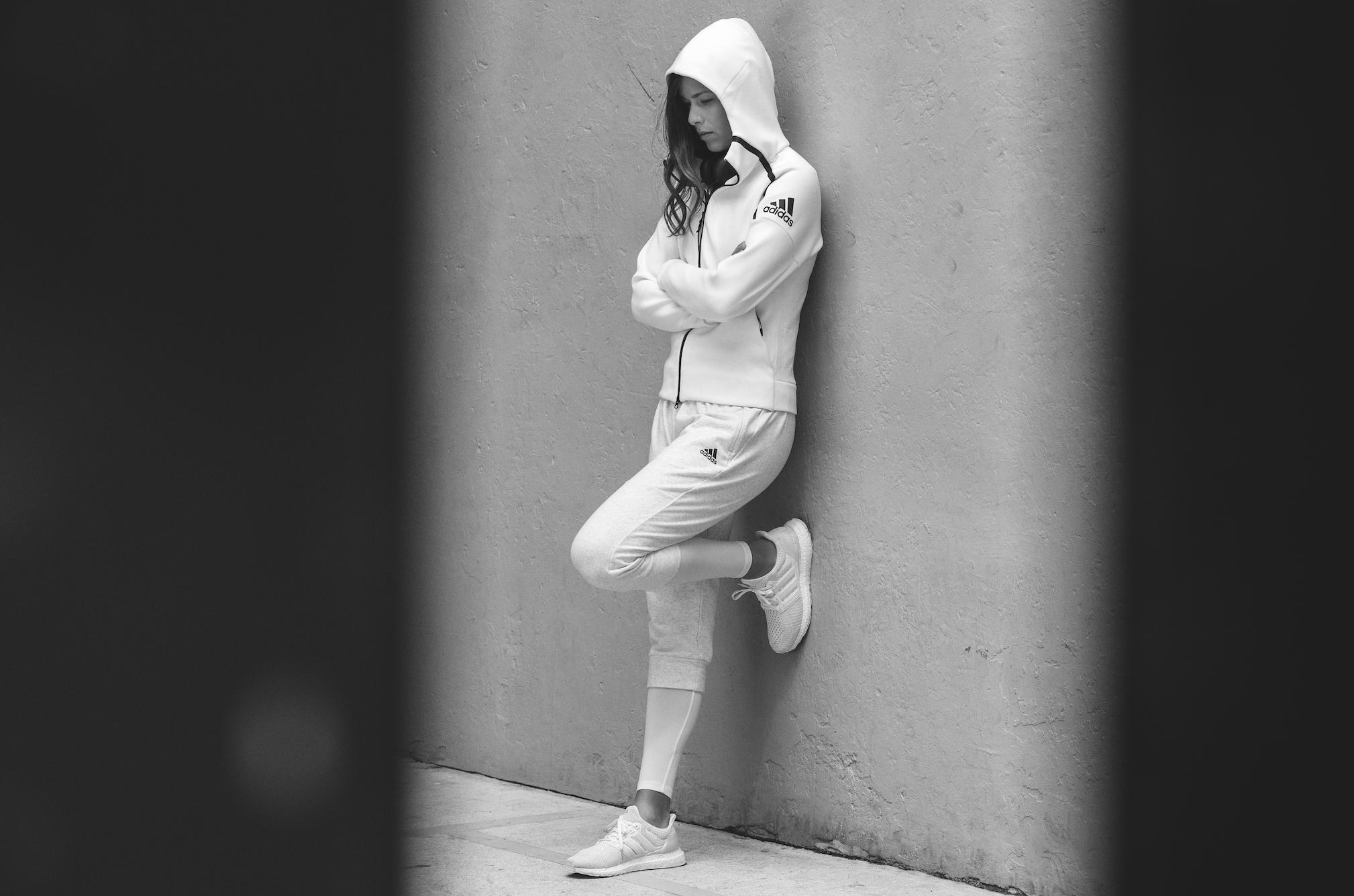 adidas dévoile son nouveau Hoodie Z.N.E dédié à la concentration - Ivanovic