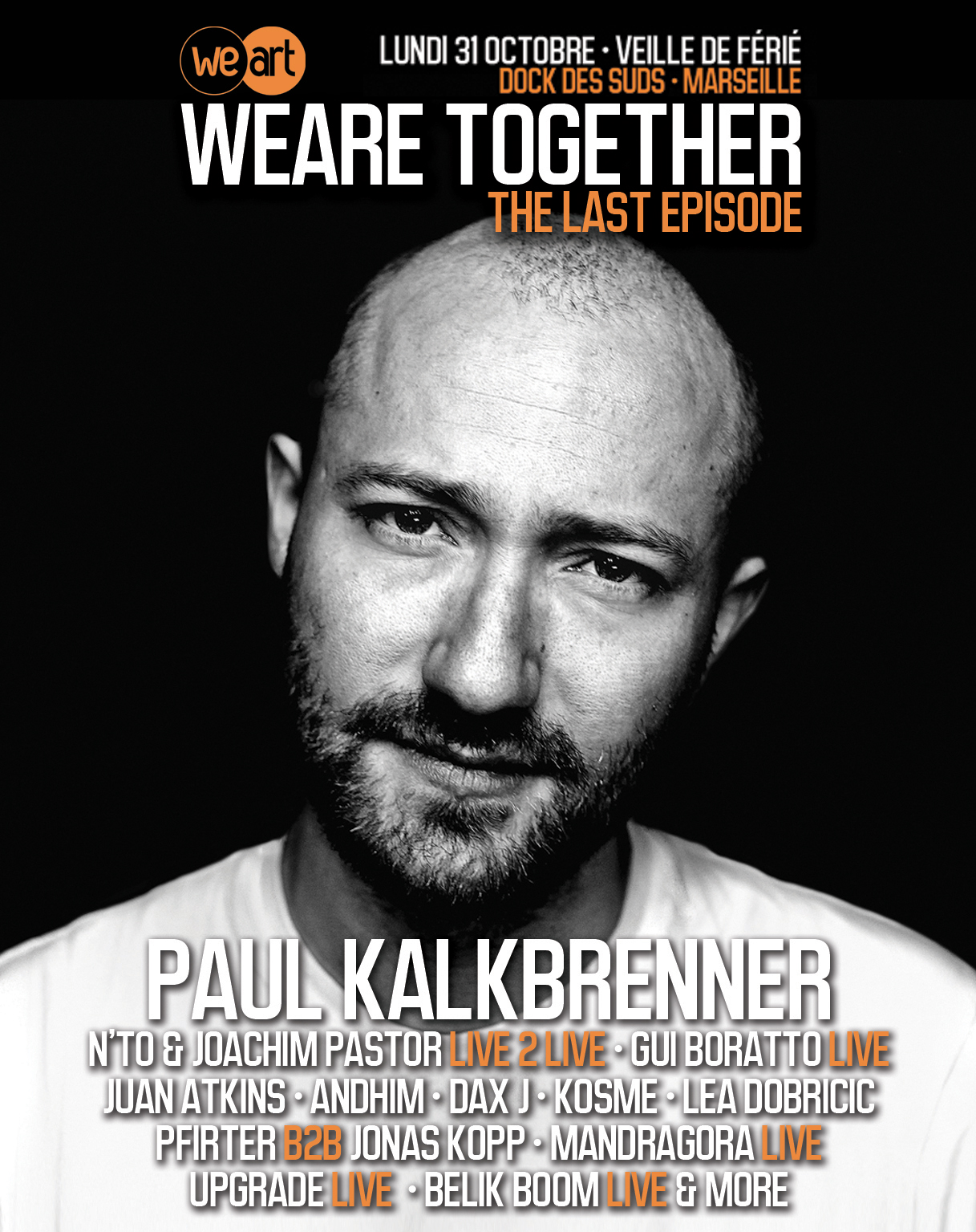 "2 places à gagner pour WeAre Together! - ""The Last Episode"""